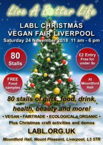 LABL Christmas Vegan Fair Liverpool Love Kimchi