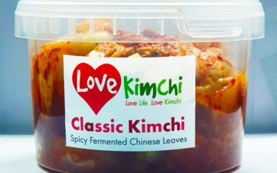Love Kimchi Classic Kimchi Vegan Korean Food Catering Pop up Plant based Gluten free probiotic