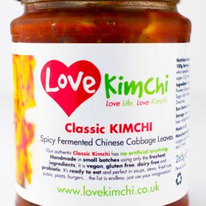 Classic Kimchi Love Kimchi Vegan Plant Based Gluten free Dairy free Probiotic All natural