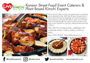 Love Kimchi Catering Private Party Parties Weddings Corporate Events