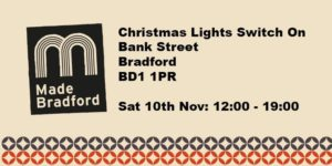 Made Bradford Christmas Lights Switch On Love Kimchi Korean Street Food Pop Up