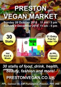 Preston Vegan Market Loev Kimchi Korean Street Food Pop up