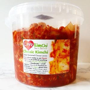 Love Kimchi Classic Kimchi Vegan Korean Food Catering Pop up Plant based Gluten free probiotic