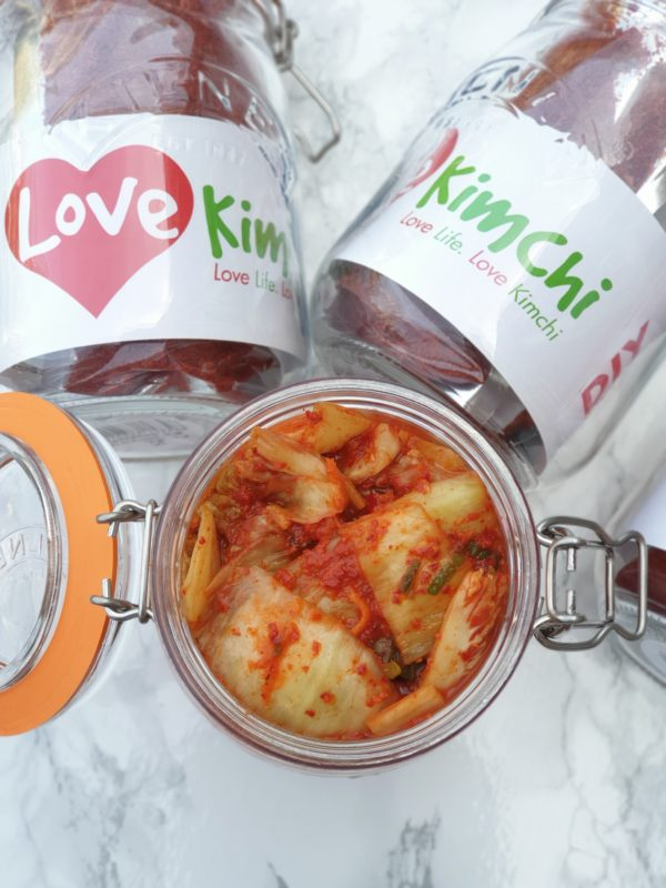 Love Kimchi DIY Kit Classic Kimchi Korean Food Vegan Street Food