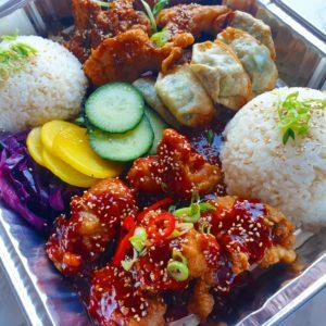 Mandu Vegan Crispy Dumplings Korean Street Food Little Korea Love Kimchi Baltic Market Liverpool Urmston Manchester Korean Fried Chicken Bao Buns