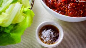 Korean Seseame Oil BBQ Ssamjang Dipping Sauce Cooking Ingredient Vegan Love Kimchi