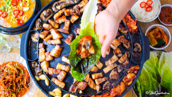 Korean Seseame Oil BBQ Ssamjang Dipping Sauce Cooking Ingredient Vegan Love Kimchi Samgyeopsal