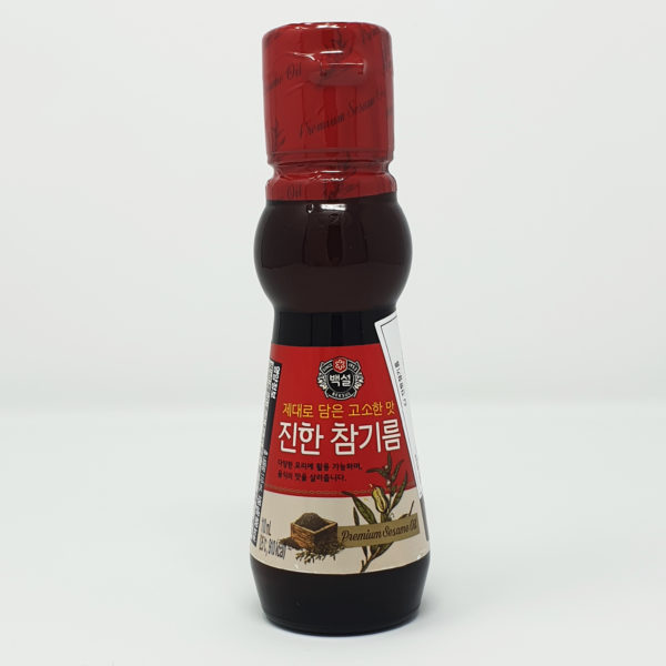 Beksul CJ Premium Korean Sesame Oil Love Kimchi Korean Food Dipping Cooking Sauce