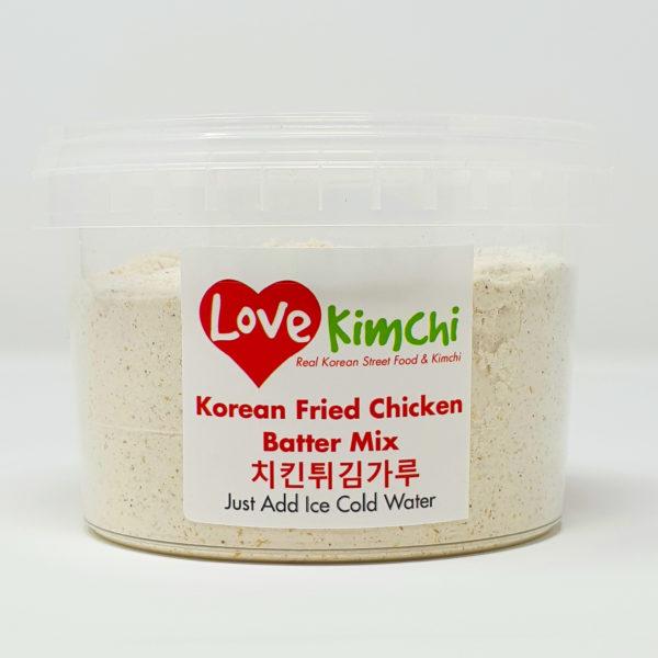 Love Kimchi Korean Fried Chicken Batter Mix Korean Food Vegan Tofu Fish
