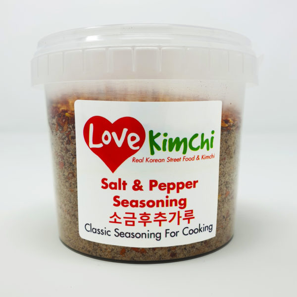Salt & Pepper Seasoning for cooking and sprinkling Korean Fried Chicken Batter Mix Tofu Vegan Fish