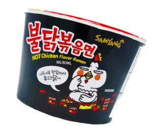 Hot Chicken Flavor Ramen Fire Noodle Challenge extremely spicy chicken flavor ramen samyang 불닭볶음면 Love Kimchi