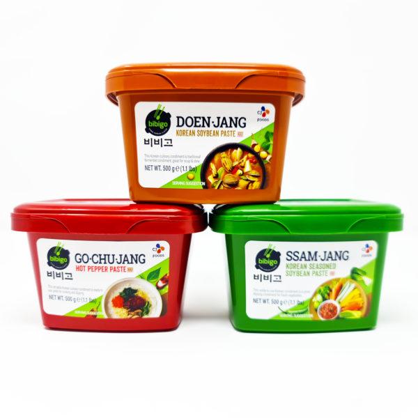Ssamjang Doenjang Bibigo Gochujang (Korean Red Pepper Paste) Love Kimchi