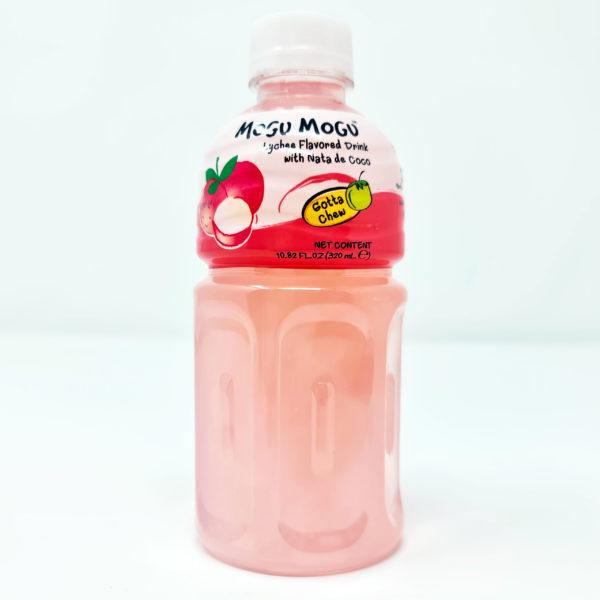 Mogu Mogu Lychee Flavoured Drink with Nata de Coco Love Kimchi