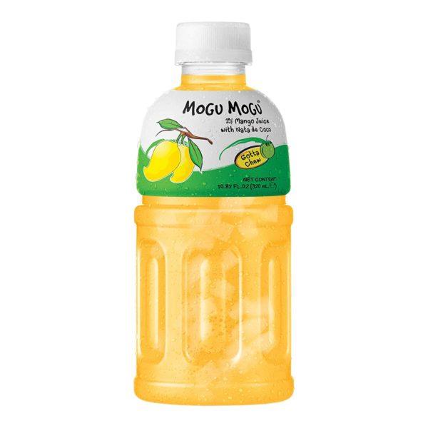 Mogu Mogu Mango Flavoured Drink with Nata de Coco Love Kimchi
